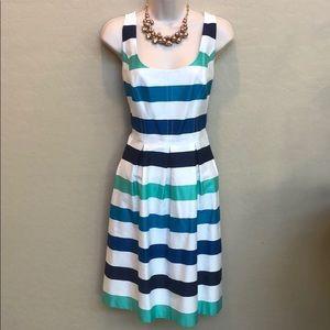 Nine West Striped Dress Size 8